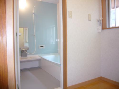 3/4坪の浴室を増築して1坪にしました