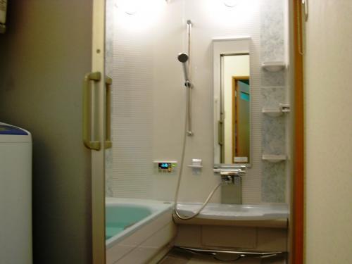 4/3坪の浴室を1坪に大型化